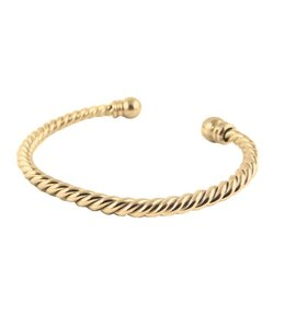 Right Hand Gal Right Hand Gal Two Ball Rope Bracelet
