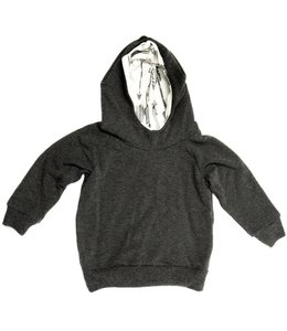Portage and Main Portage and Main Charcoal Terry Hoodie