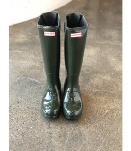 Hunter Hunter Boots- Olive & Black