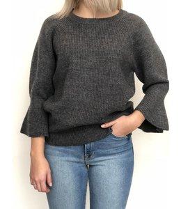 Michael Kors Michael Kors Wool Bell Cuff Pullover