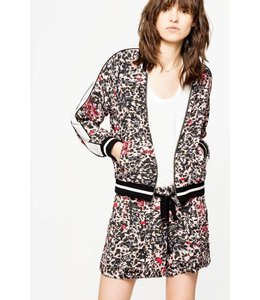 Zadig & Voltaire Zadig & Voltaire Billy Leo Bomber Size Small