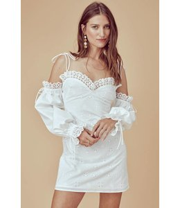 For Love & Lemons For Love & Lemons Vera Eyelet Mini