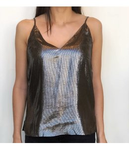 CAMI NYC CAMI NYC The Olivia Cami-Pewter Size XS