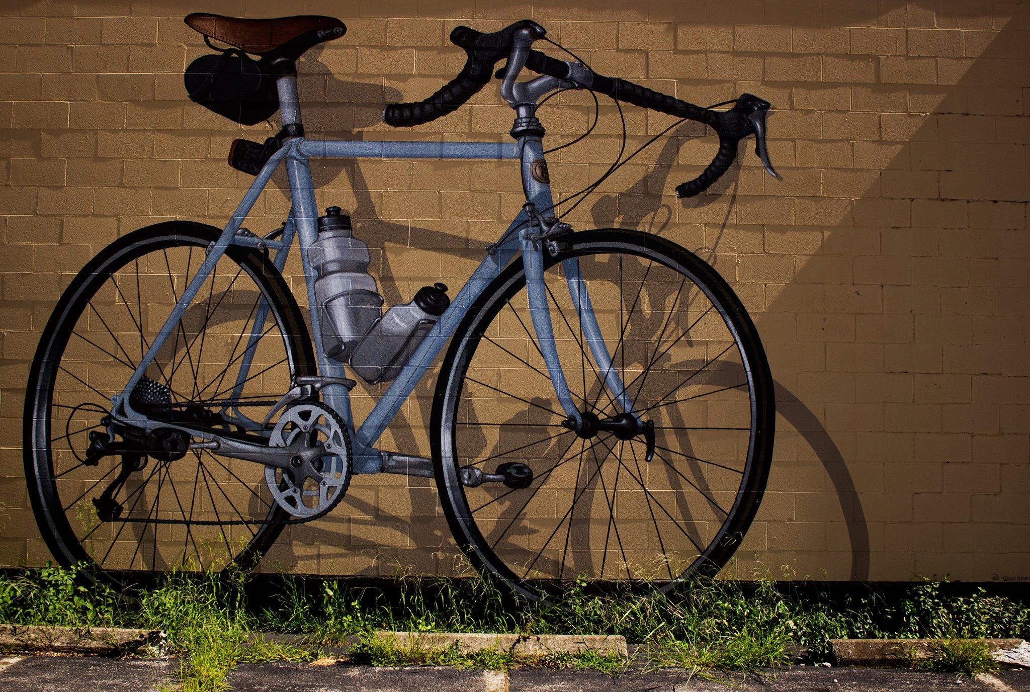 Big Bike Mural