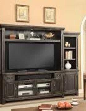 Parker House Furniture RID#172-4 Parker House Ridgecrest 4PC Entertainment Wall