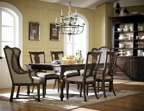 ART Furniture 210220DCS-2106DISC ART Egerton 7PC DIning Set(1TB,2AC,4SC)CLEARANCE