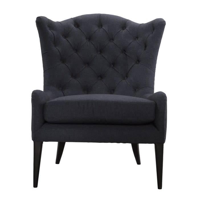 SE15320-10LndonFlnelDISC Spectra Marley Tufted Salon Accent ChairCLEARANCE