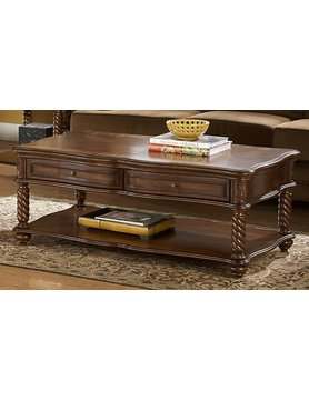 Top Line Furniture HE 5554-30&04 Top Line 2PC CKT/END Set