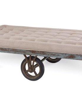 ART Furniture 223310-2621DISC ART Epicenters Factory Cart Cocktail TableDISC