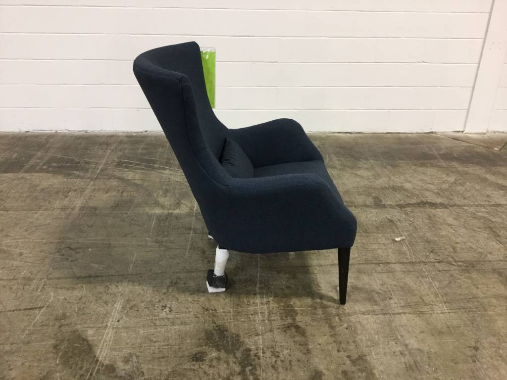 SE02921-10LndonNavyDISC Spectra Alfred Salon Accent ChairCLEARANCE