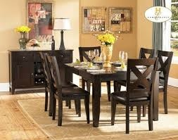 "Top Line Furniture HE 1372-78&S Top Line 7PC Dining Set 18""Leaf (1TB,6SC)"