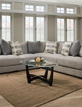 Franklin 80803&04&59&60-351005 Barton 4PC Sectional