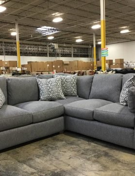 Franklin 82150&59-374106 Greystone STNRY Sectional