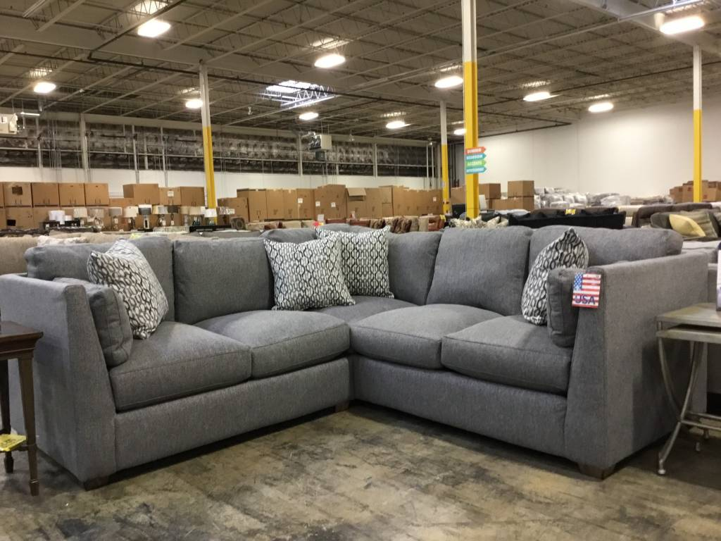 Franklin 82150&59-374106CLEAR Greystone STNRY Sectional