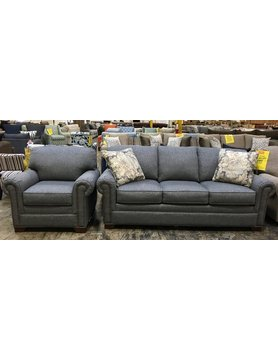 Craftmaster 756550&510-Bahama CM STNRY 2PC Sofa & Chair
