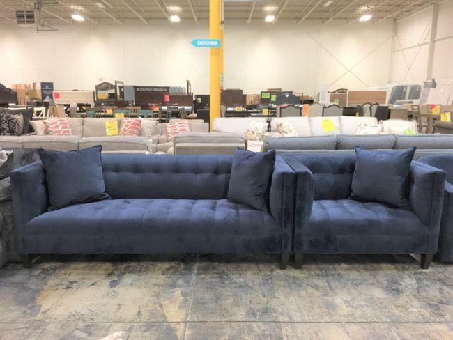 MarleySFCH-EmpressEclip EJ Lauren 2PC Set Sofa/ChairCLEARANCE