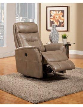 Parker House Furniture MGEM#812GSPB-LINEN Parker House Gemini PWR RCNLR Chair