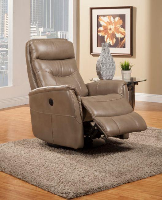 MGEM#812GSPB LINEN Parker House Gemini PWR RCNLR Chair