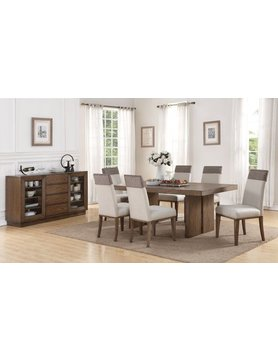 Flexsteel/Wynwood W1144-831CS Flexsteel/Wynwood Maximus 7PC Dining Set(TB,6SC)