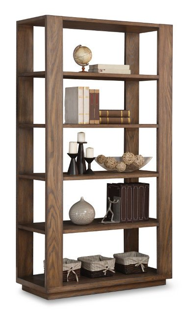 W1344 702 Flexsteel Wynwood Maximus Office Bookcase