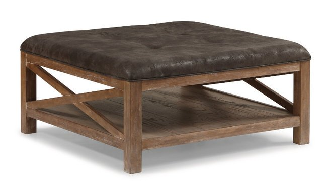 Flexsteel/Wynwood W1448-093 Flexsteel/Wynwood Hampton Occasional Dark Square Cocktail Table