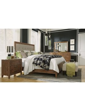 Flexsteel/Wynwood W1048-90QCS Flexsteel/Wynwood Hampton 4PC Queen Bed Set(Q,D,M,1N)