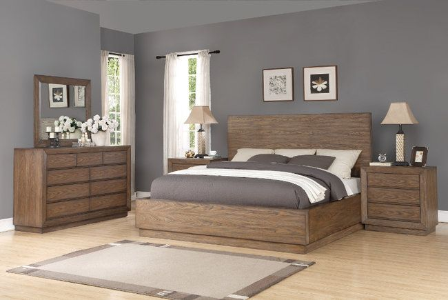 Discount furniture, Rustic transitional bedroom furniture near me ...