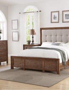 Flexsteel/Wynwood W1048-91KCS Flexsteel/Wynwood Hampton 5PC KING Bed Set(K,D,M,2N)