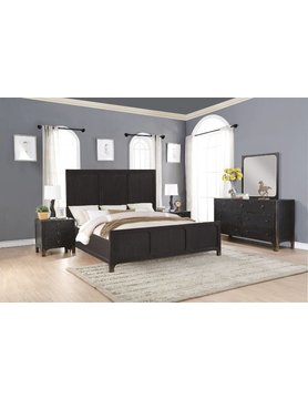 Flexsteel/Wynwood W1037-91KCS Flexsteel/Wynwood Homestead 5PC KING Bed Set(K,D,M,2N)
