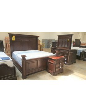 Flexsteel/Wynwood W1804-90KCS Flexsteel/Wynwood Westchester King Bed 5pc Set(KB,D,M,N,N)