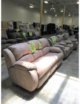 705-61&78P17316DISC Southen Motion Cagney PWR RCNLR & HR 2PC Set Sofa/Love
