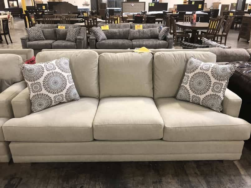 Craftmaster 753650-MonetClear CM STNRY Sofa ONLY