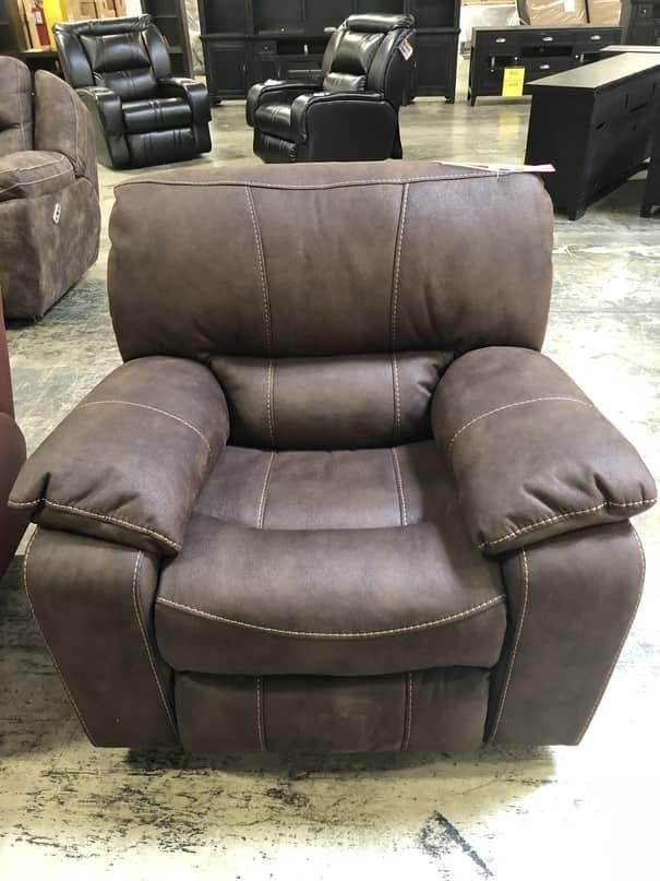 Parker House Furniture MJUP#812G-DK Parker House Jupiter GLDER RCNLR Chair