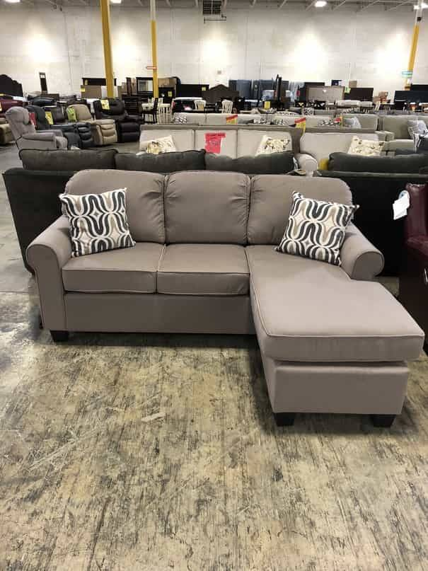 Top Line Furniture HE 8208-3SC Top Line Sprague Sofa/Chaise 2PC Sectional