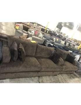 14100Sofa&Chr-BronSable Hughes STNRY 2PC Set(S,C)