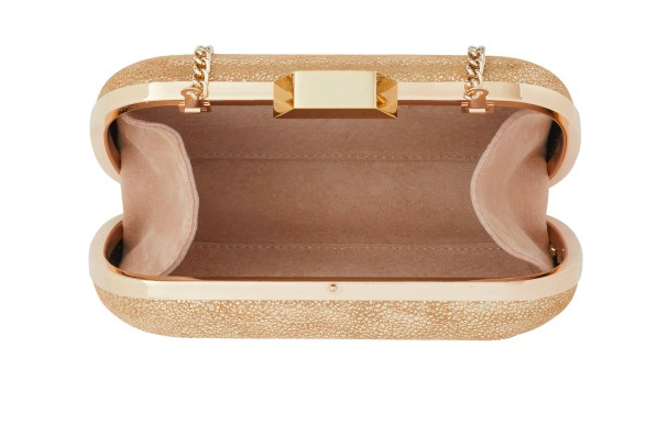 lili radu shell clutch gold glitter the peacock boutique. Black Bedroom Furniture Sets. Home Design Ideas