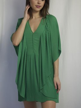 MALENE BIRGER GREEN FLOW DRESS