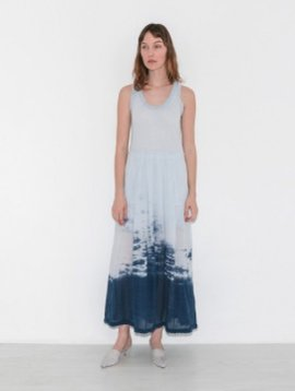 RAQUEL ALLEGRA PLEATED DRESS