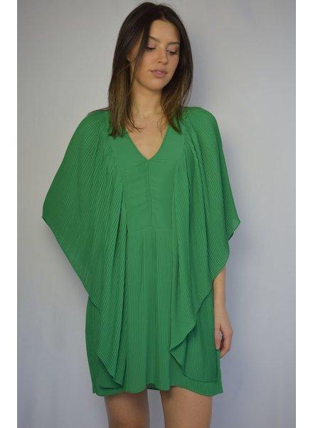 MALENE BIRGER GREEN FLOW DRESS