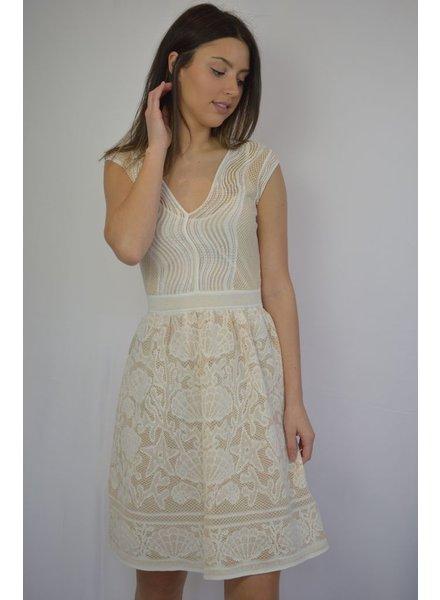 M MISSONI WHITE ABITO DRESS