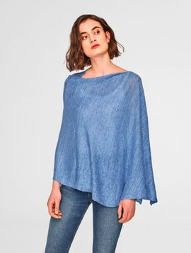 WHITE & WARREN LINEN TOPPER
