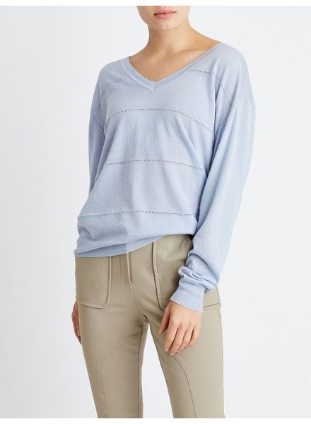 BECKEN POINTELLE SWEATER