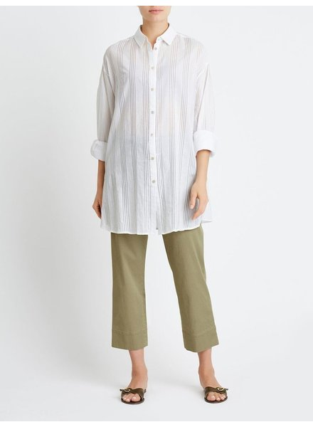 BECKEN OVERSIZED VOILE BUTTON DOWN