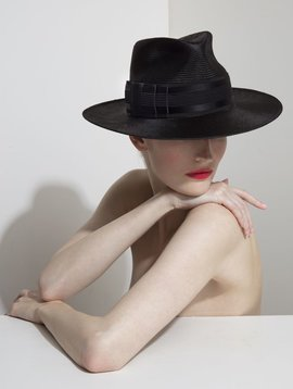 PHILIP TREACY BEATRICE FEDORA