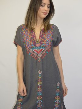 JOHNNY WAS VELSIA EASY TUNIC DRESS