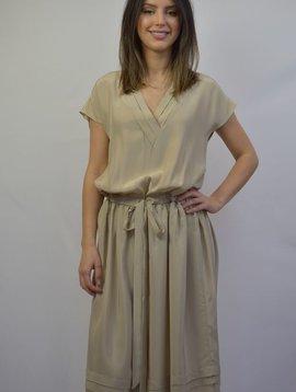BECKEN PLEAT DRESS