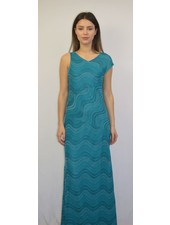 M MISSONI TEAL ABITO DRESS