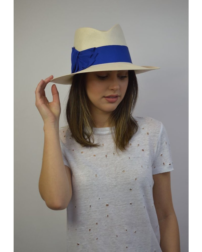 PHILIP TREACY IVORY/BLUE