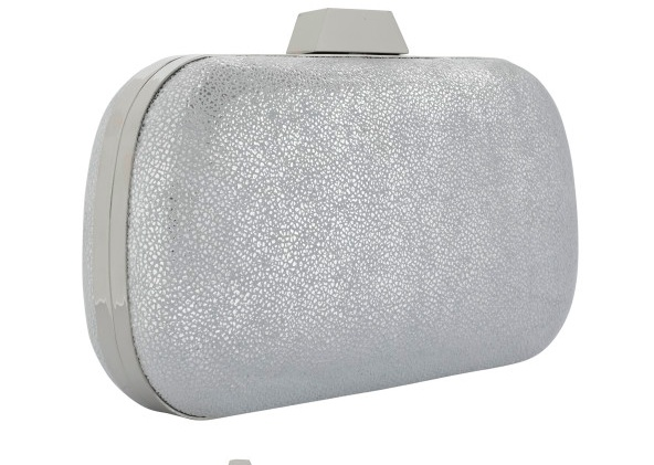 "LILI RADU SHELL CLUTCH ""GLITTER V"" PLUS"