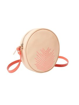"LILI RADU CIRCLE BAG ""EMBROIDERY V"""
